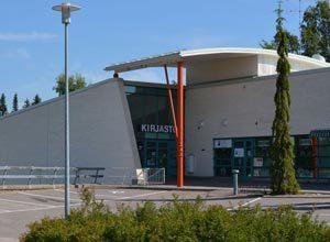 kuva Saukkolan kirjastosta
