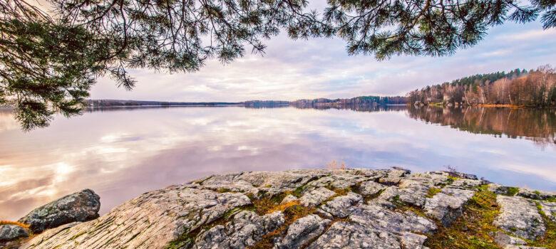 Lohja on järvikaupunki. Kuva Ville Juurikkala.