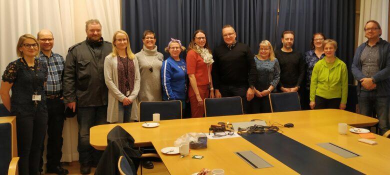 Lohjan kaupungin Kilometrikisa-joukkueen palkitsemistilaisuus 22.10.2019, kuva Iris Jägel-Balcan